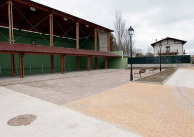 Plaza en Arlegui