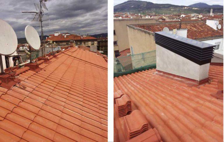 Rehabilitación de Fachada y Cubierta en C/ González Tablas, 4