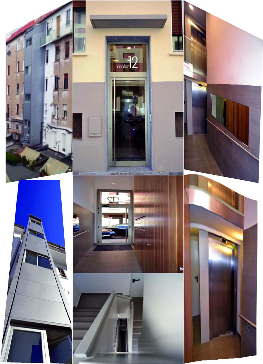 Rehabilitación edificio C/ Aralar 12