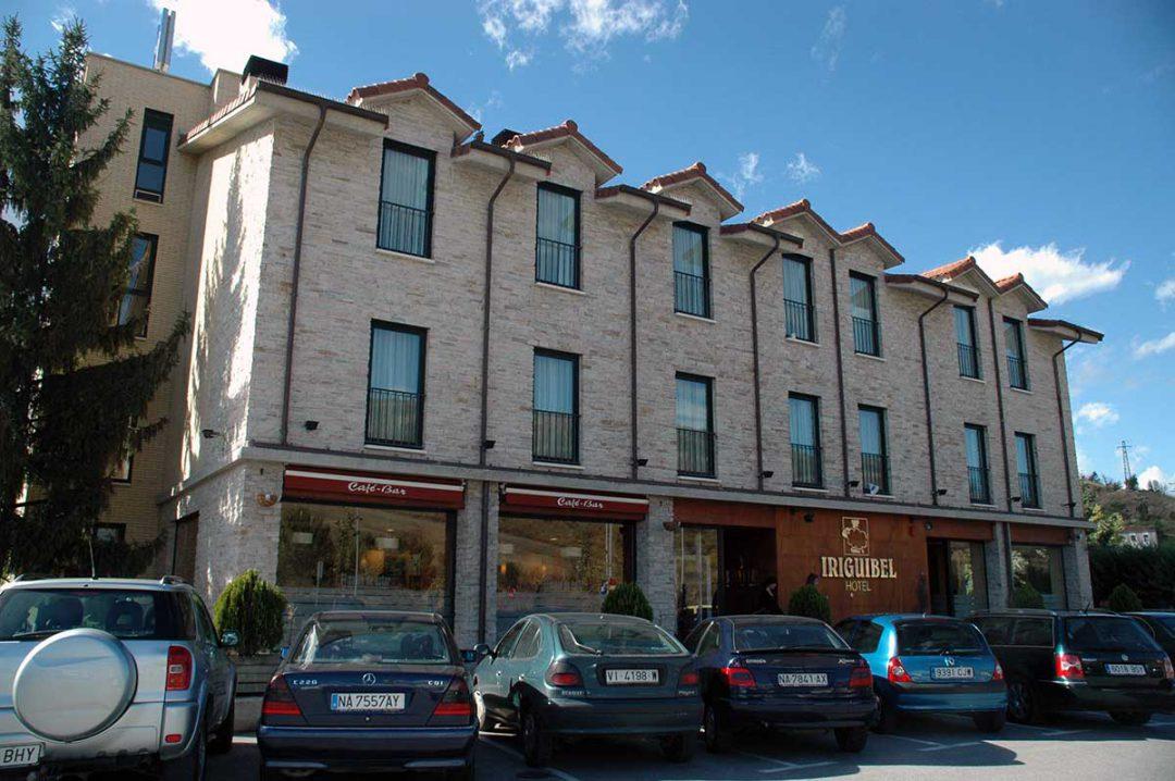 Hotel Intxaurdia en Huarte