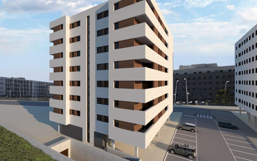 35 Viviendas VPO en Artiberri – Edificio BERRIO