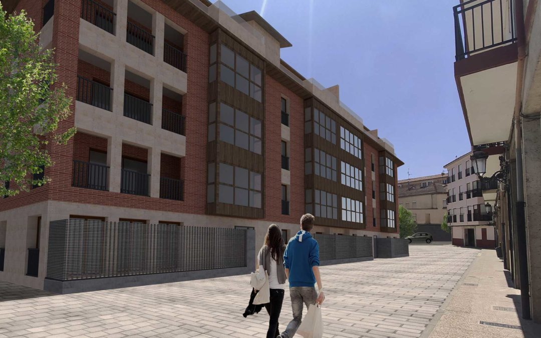 Edificio Ibaialde en Huarte